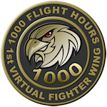 1000 Multiplayer Flight Hours
