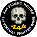 444 Multiplayer Flight Hours