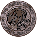 500 Multiplayer Flight Hours